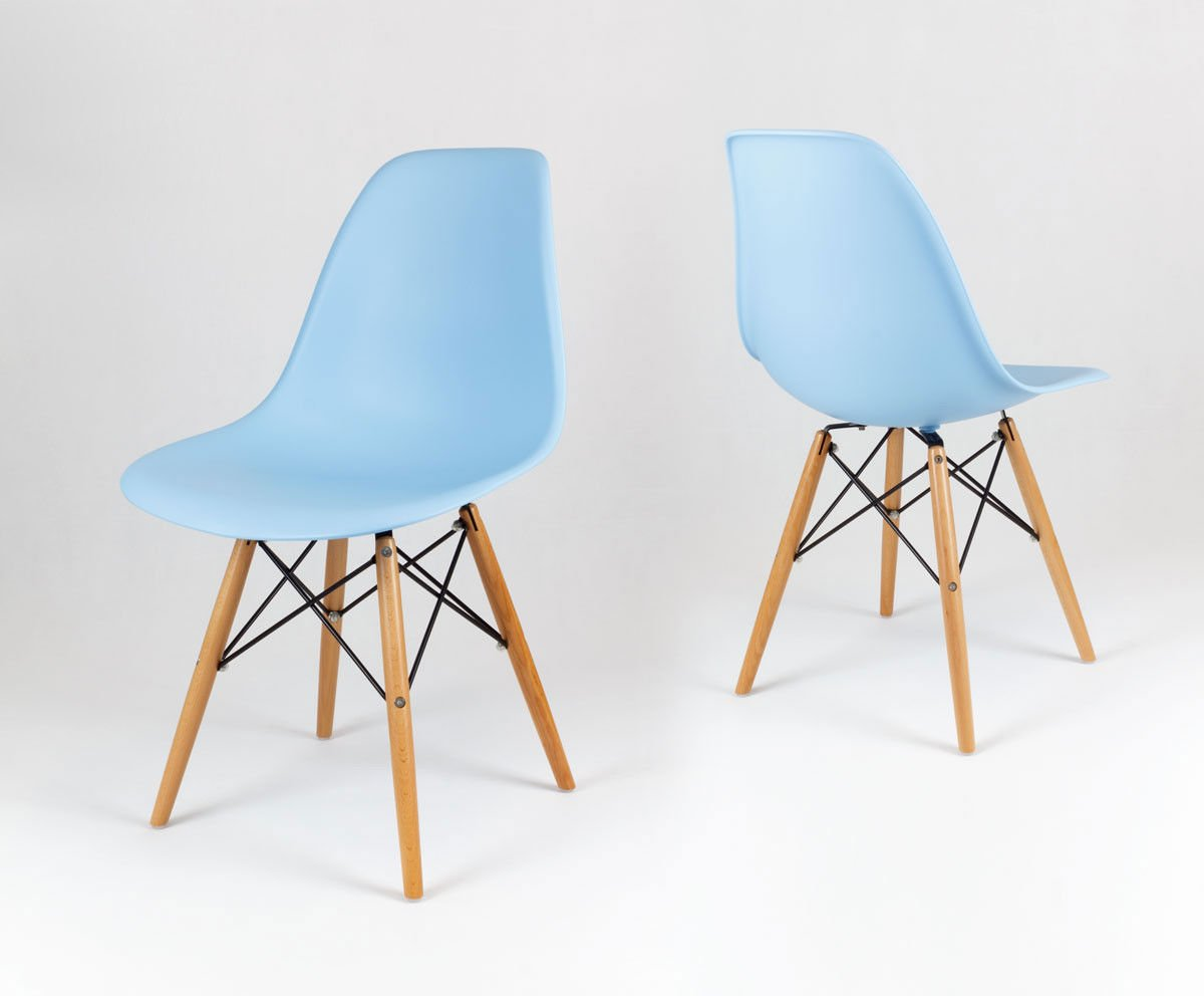 sk design kr012 light blue chair beech light blue beech