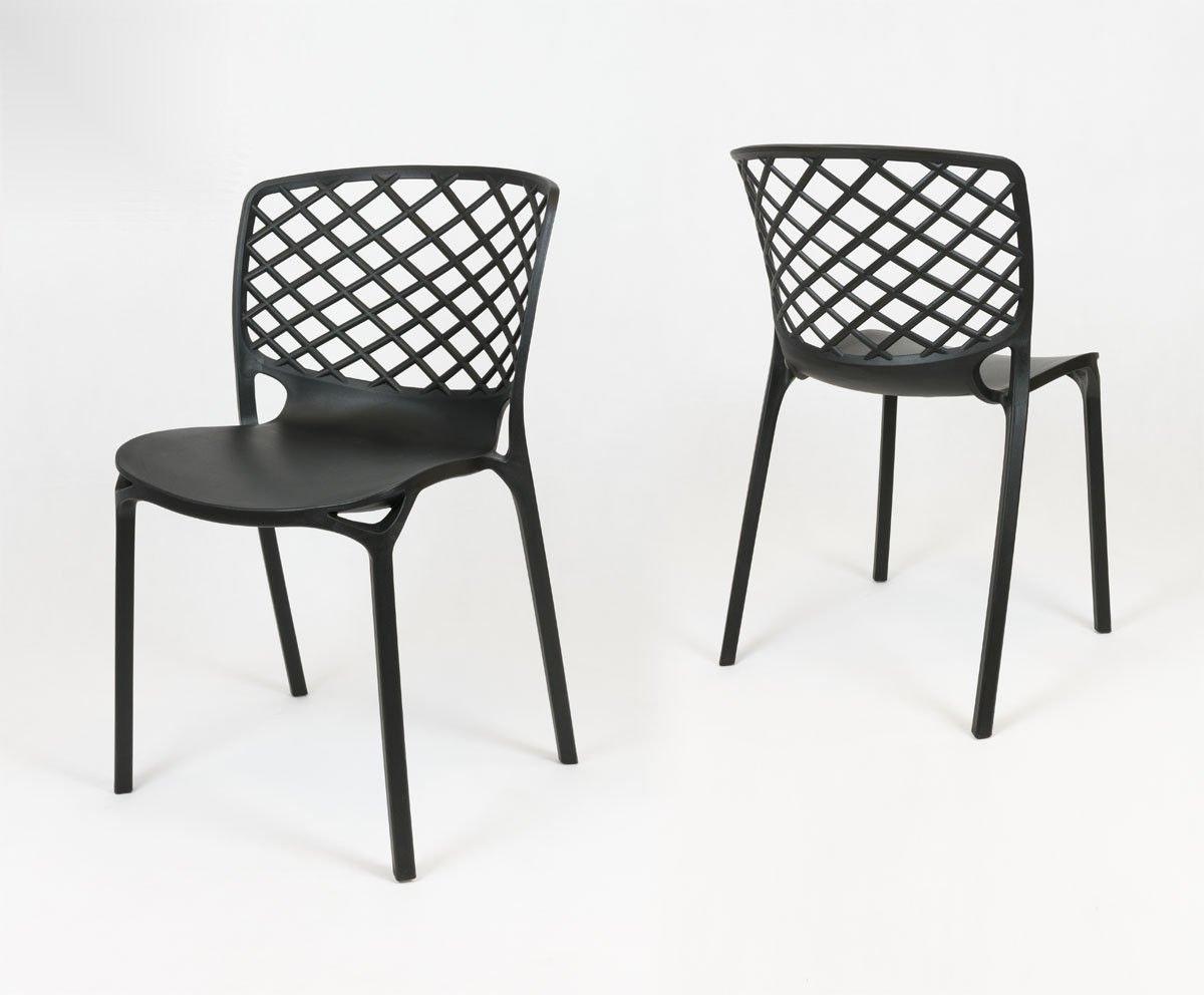 Sk design kr047 black chair black offer krzesla for Black chair design