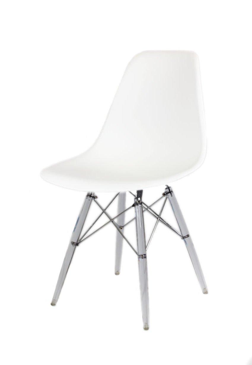 sk design kr012 weiss stuhl clear weiss tworzywo. Black Bedroom Furniture Sets. Home Design Ideas