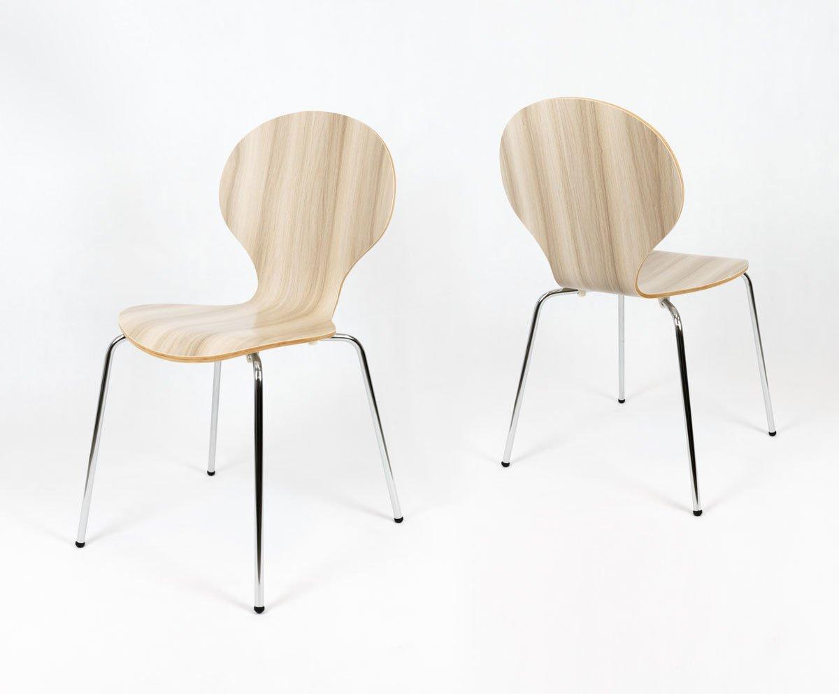 sk design skd004 sz stuhl grau holz grau angebot. Black Bedroom Furniture Sets. Home Design Ideas