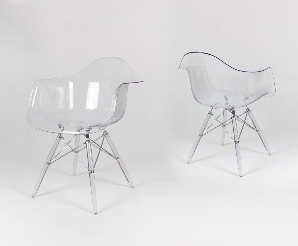 Transparent Sessel Sk Design Kr012f Klar 534ARjL