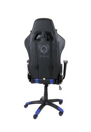 Fotel Gamingowy Diablo X-One Czarno-Niebieski