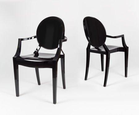 SK Design KR001 Black Chair