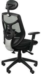 Fotel biurowy gabinetowy TIMOR  - szary