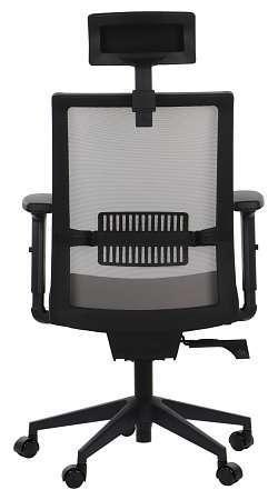 Fotel obrotowy TINOS Czarny/Szary