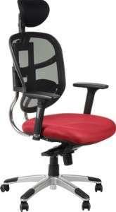 Krzesło Fotel obrotowy Ibiza - Bordowy