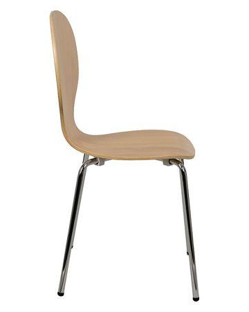 Krzesło sklejka gięta SK-122BUK BUKOWE