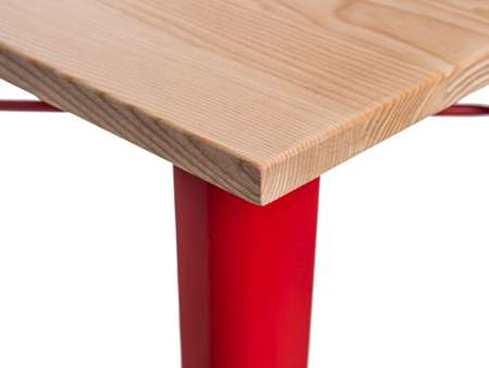 Paris Wood bar table red ash
