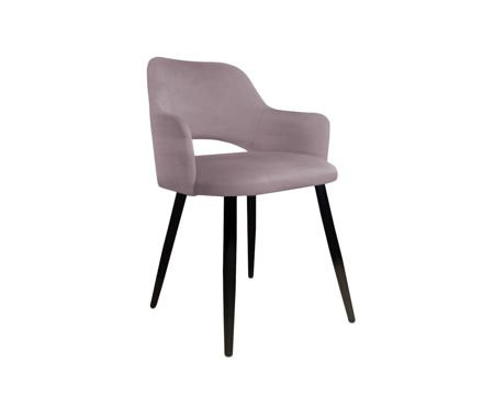 Pink upholstered STAR chair material MG-55