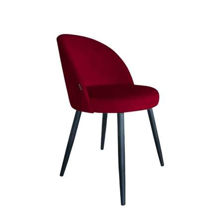 Red upholstered CENTAUR chair material MG-31