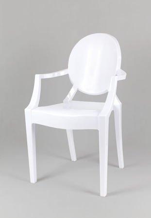 SK Design KR001 White Chair