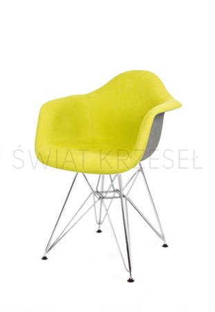 SK DESIGN KR012F TAPICERATED CHAIR MORIC10/7 CHROME