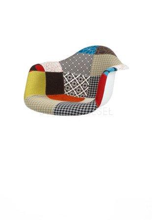 SK Design KR012F Upholstered Seat Patchwork 2