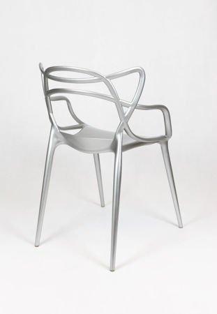 SK Design KR013 Silver Chair