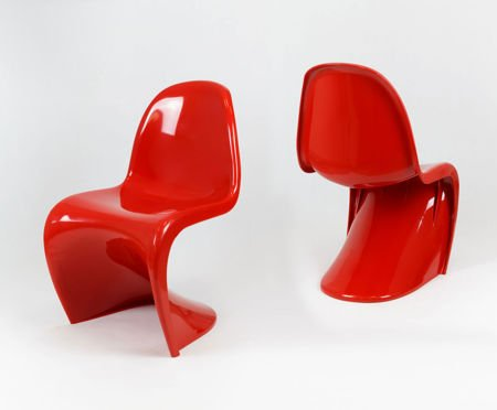 SK Design KR017 Red Chair Shine