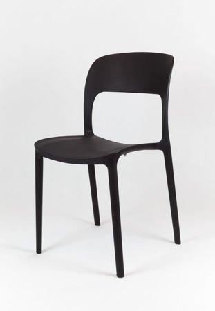 SK Design KR022 Black Polypropelene Chair