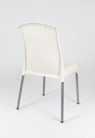 SK DESIGN KR041 CREAM POLYPROPYLENE CHAIR
