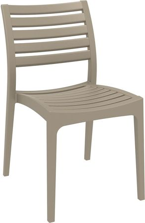 SK DESIGN KR052 YELLOW POLYPROPYLENE CHAIR