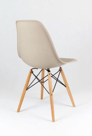 SK Design KR012 Beige Chair Beech
