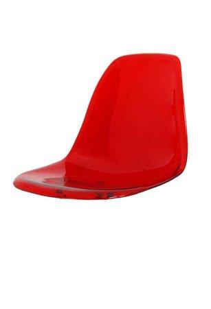 SK Design KR012 Red Transparent Seat