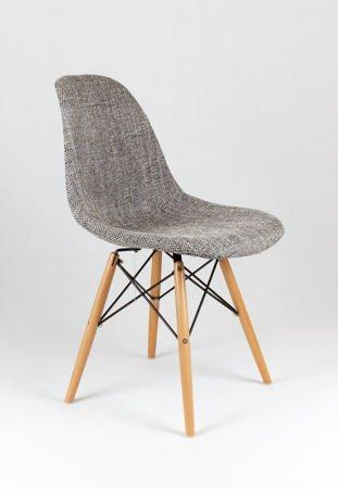 SK Design KR012 Upholstered Chair Lawa05, Beech legs