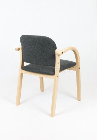 SKE NOWY STYL ELVA UPHOLSTERED WOODEN CHAIR