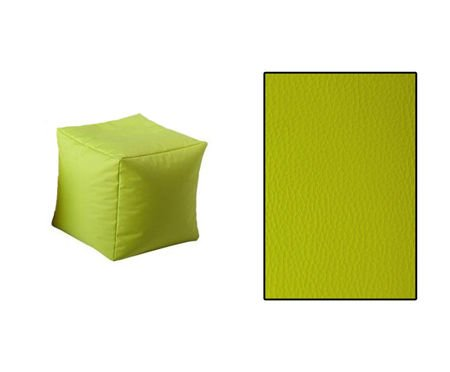 SKN Pouf Olive Cubes