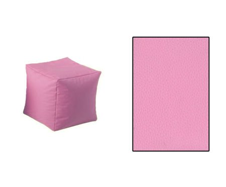 SKN Pouf Pink Cubes