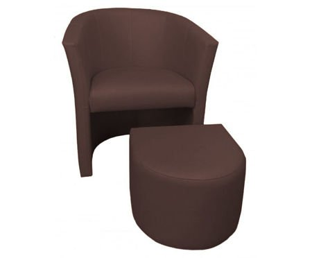 Venge CAMPARI armchair with footrest