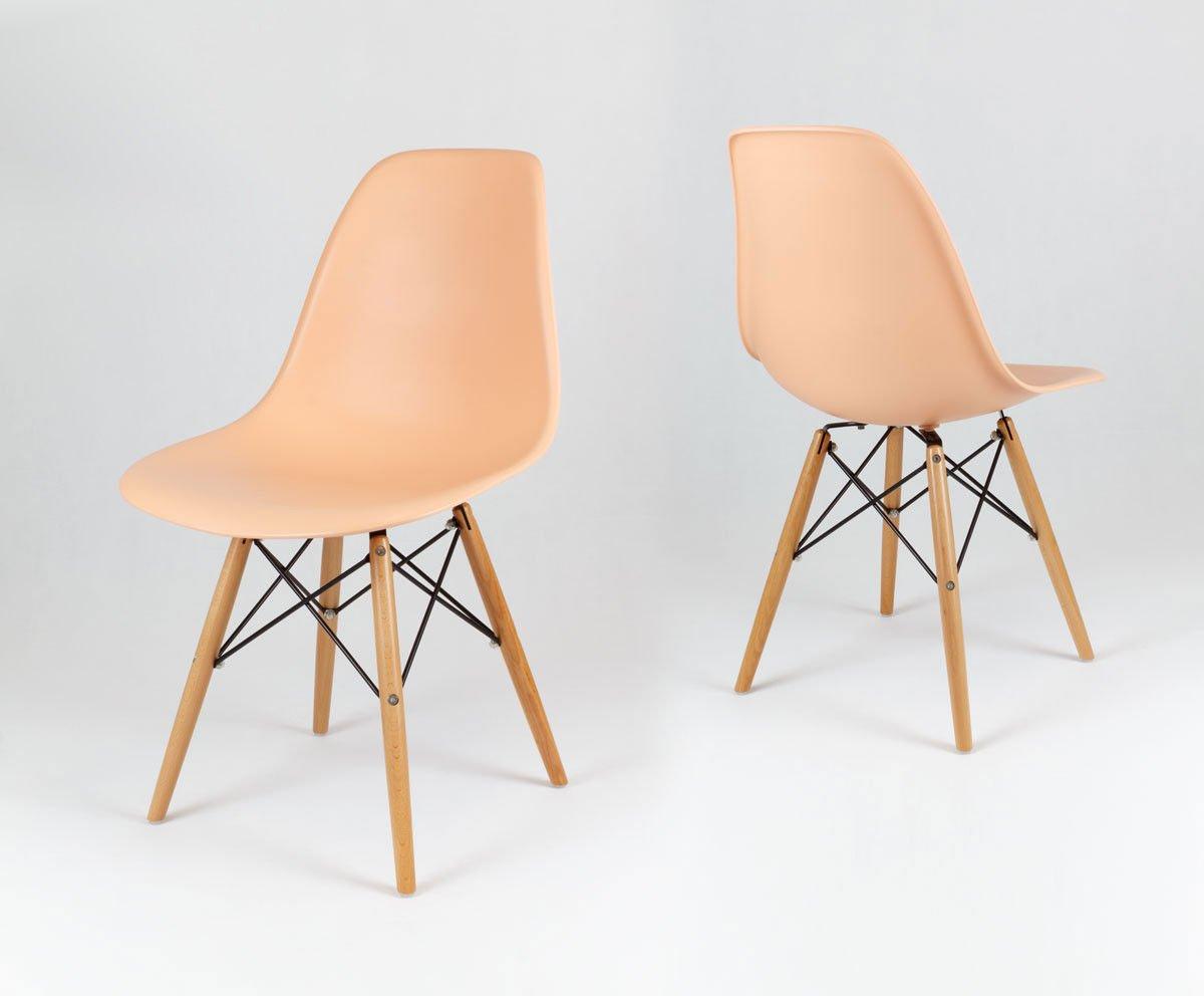 Sk design kr012 pfirisich stuhl buche pfirisich holz for Stuhl buche