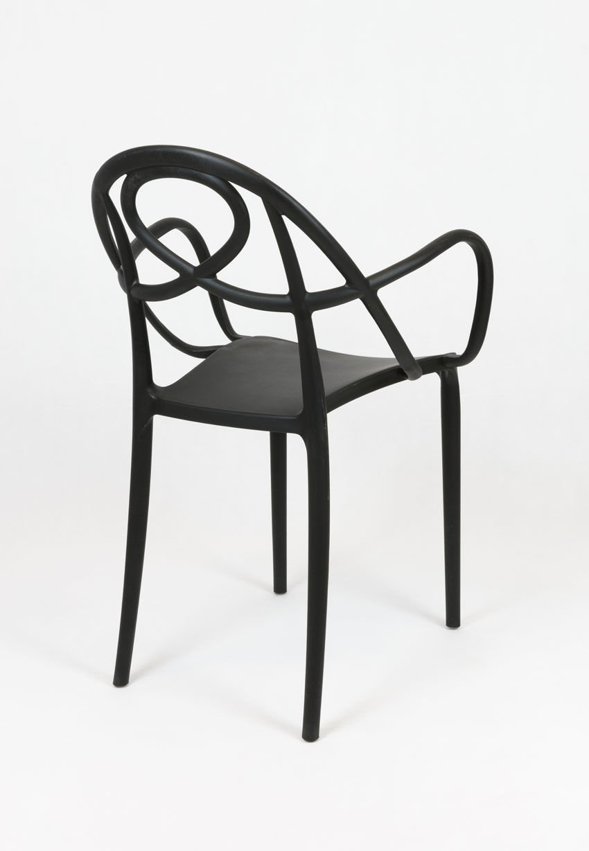Sk design kr050 schwarz polypropylene stuhl schwarz for Design stuhl schwarz