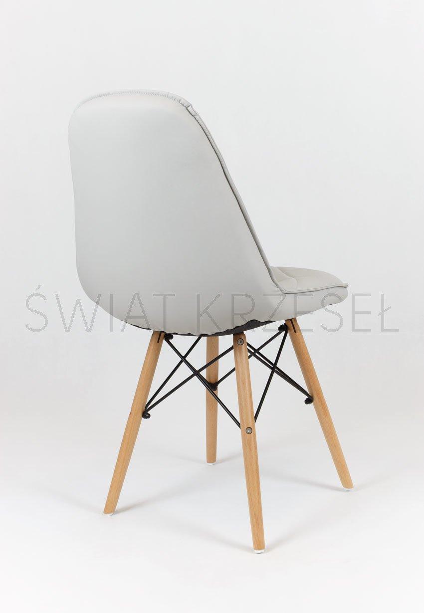 sk design ks007 grau kunsleder stuhl mit holzbeine hellgrau sonderangebote angebot st hlen. Black Bedroom Furniture Sets. Home Design Ideas