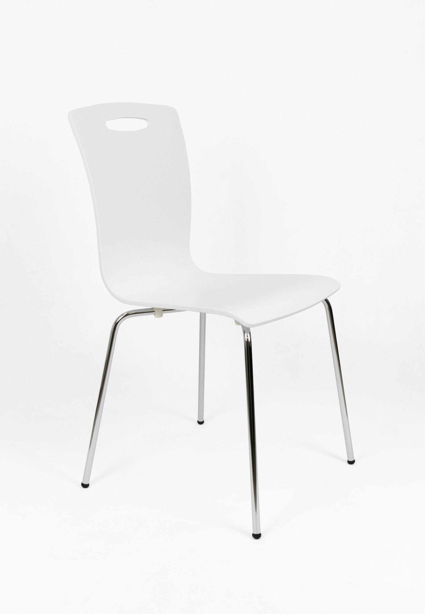 sk design skd002 stuhl weiss holz weiss angebot. Black Bedroom Furniture Sets. Home Design Ideas