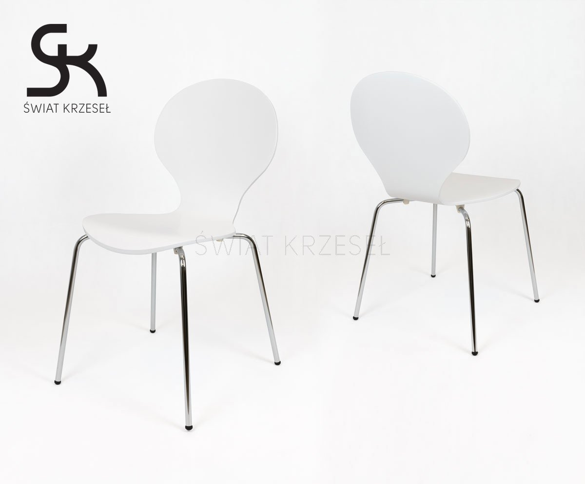 Sk design skd004 stuhl weiss holz weiss angebot for Stuhl design holz