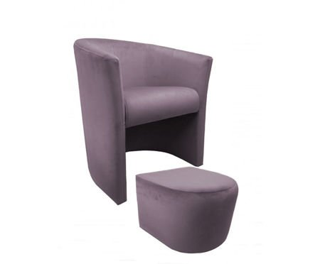 CAMPARI Sessel mit Fußstütze Magic Velvet 55