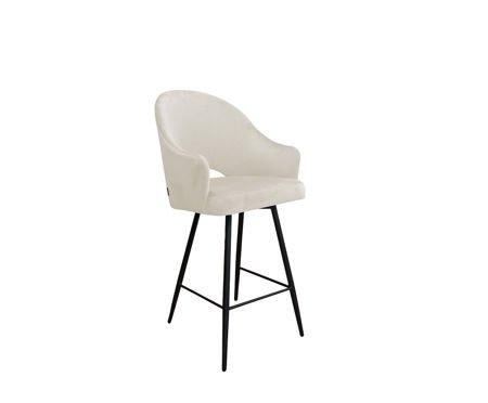 Gepolsterter Sessel DIUNA aus elfenbeinfarbenem Material MG-50