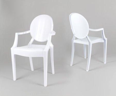 SK Design KR001 Weiss Stuhl