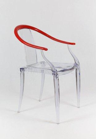 SK Design KR007 Transparent Stuhl