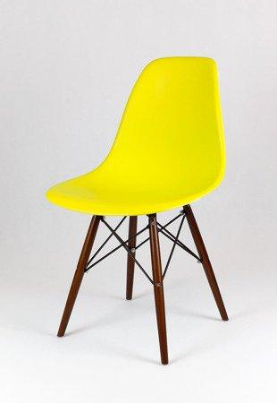 SK Design KR012 Gelb Stuhl, Wenge