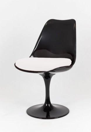 SK Design KR029 Schwarz Drehstuhl + Kissen