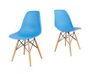 SK Design KR012 Oceaniczne (niebieskie) Krzesło, Nogi buk