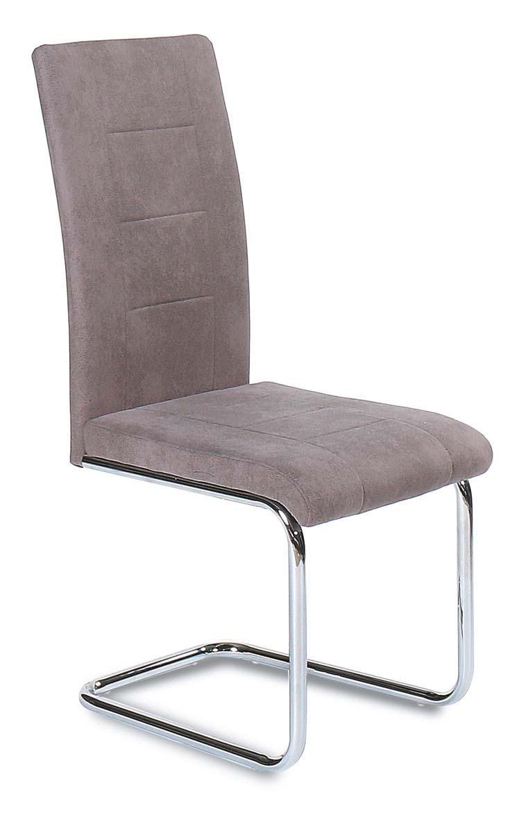 krzesło DC-230 szary/chrom