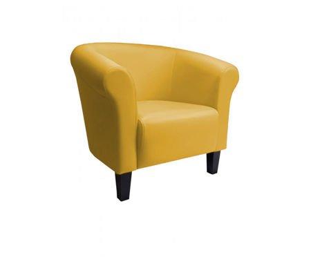DZIECIĘCY Fotel MALIBU żółty