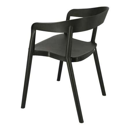 Krzesło Bow czarne