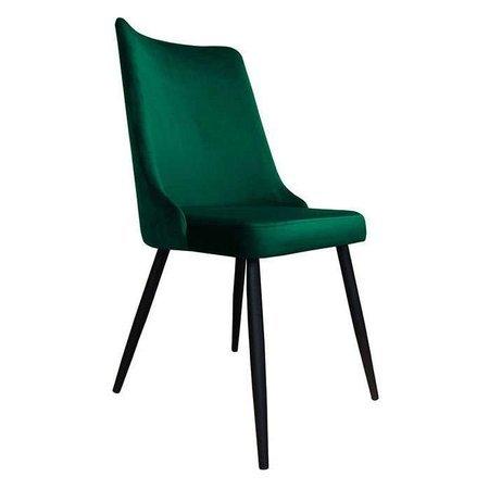 Krzesło Orion ciemnozielone materiał MG-25