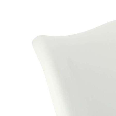 Krzesło Tulip Basic białe/czerwo na poduszka