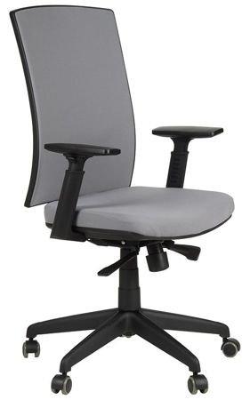 Krzesło fotel obrotowy Korfu -  SZARY