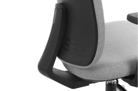 Krzesło fotel obrotowy Milos - czarny