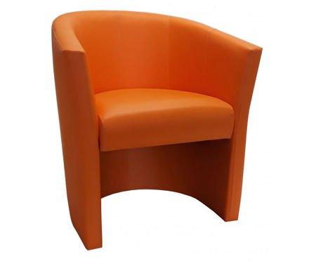 Pomarańczowy fotel CAMPARI