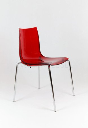 SK Design KR010 Transparent Krzesło